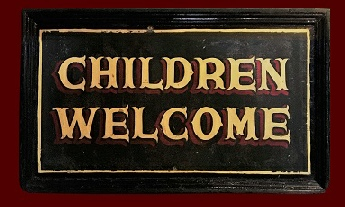 Children welcome