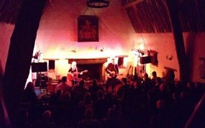 Plumhall play the Cruck Barn