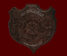 Hand Carved Shield